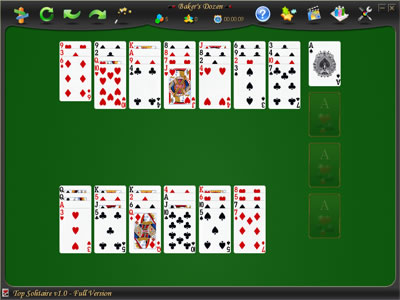 Top Solitaire includes 500+ card games.